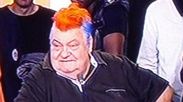 Prezes Montpellier Louis Nicollin i jego mistrzowska fryzura