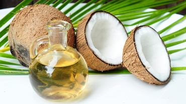 Olej kokosowy jest dobry na diecie.