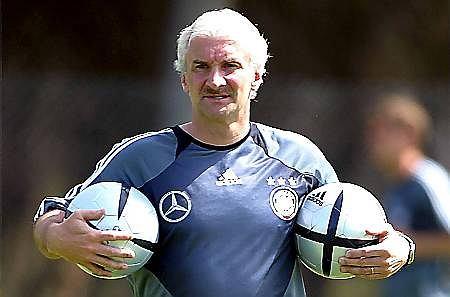 Niemiecki trener Rudi Voeller
