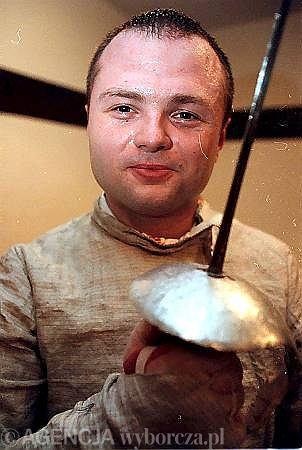 Rafał Sznajder. Zdjęcie z roku 1999