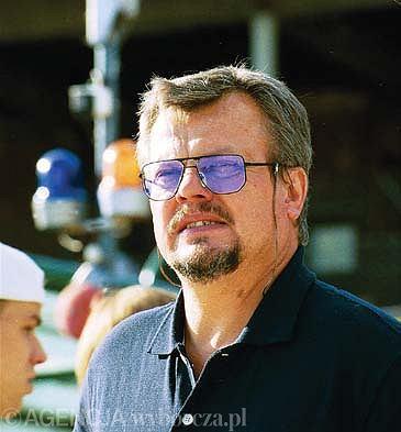 Trener Czesław Czernicki w 2001 roku