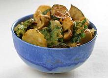 Pakora warzywa w cieście naleśnikowym - ugotuj