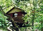 Domek dla dzieci - na drzewie
