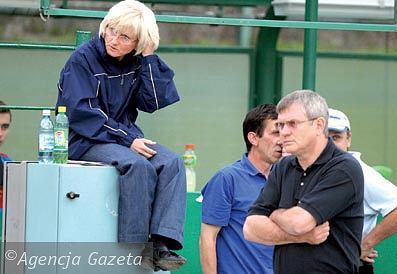 Krystyna Kloc i Andrzej Rusko w 2005 roku