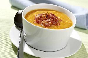 Zupa czosnkowa na boczku