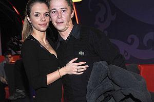 Bartosz Obuchowicz z żona
