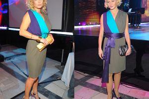 Sporą wpadką była identyczna sukienka Małgosi i Joanny Liszowskiej. W dodatku panie pojawiły się w niej na tej samej imprezie!