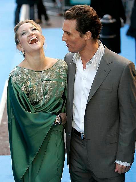 Kate Hudson i Matthew McConaughey pokazie filmu 'Fool's Gold'