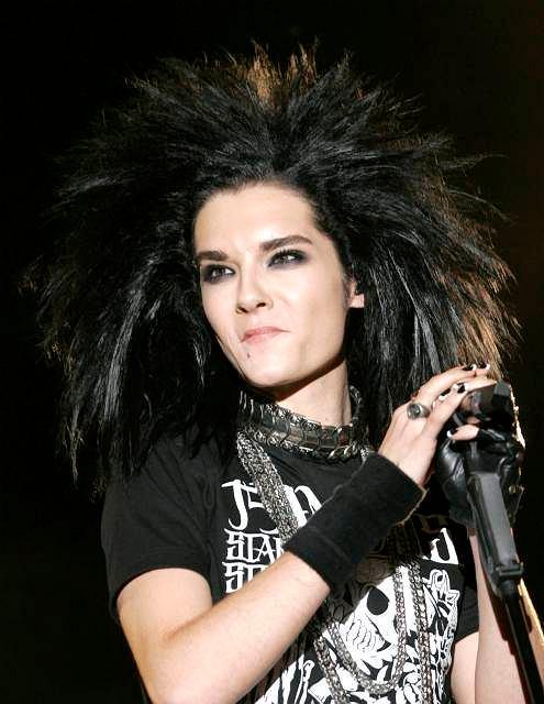 Bill Kaulitz z Tokio Hotel na festiwalu