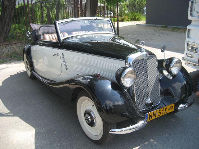 Mercedes 170V A - najstarszy na zlocie