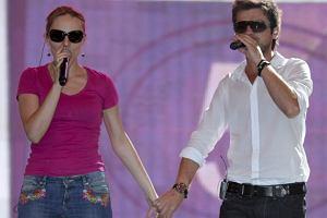 Ewelina Flinta i Łukasz Zagrobelny/Forum