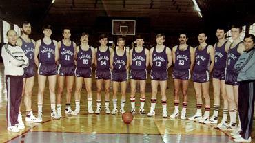 Zagłębie Sosnowiec - drużyna koszykarskich mistrzów Polski z 1986 roku