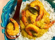Curry z krewetkami i mlekiem kokosowym - ugotuj