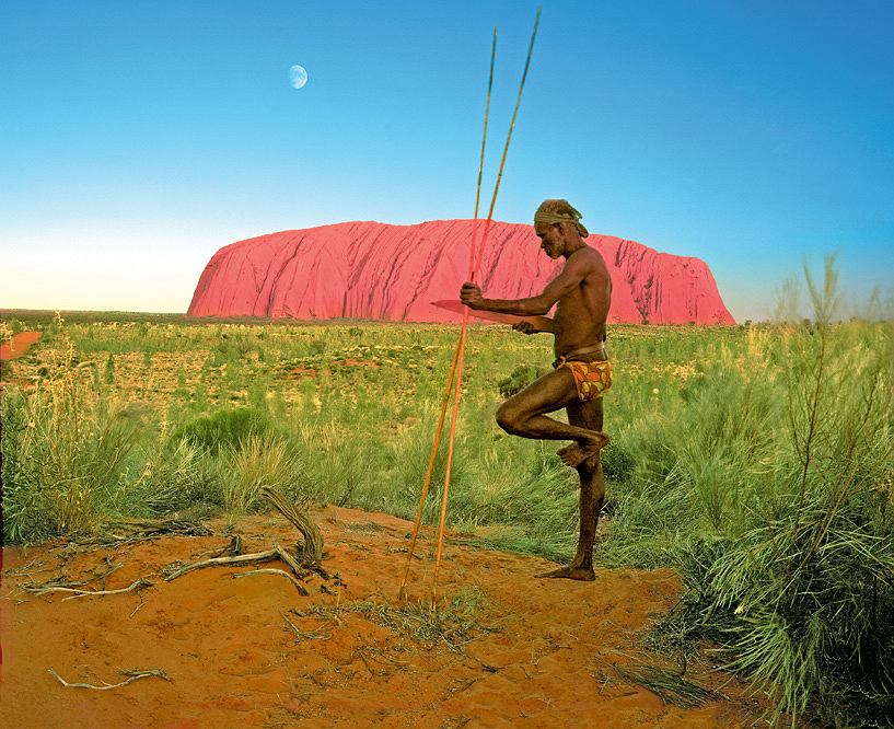 Uluru - święta góra australijskich Aborygenów