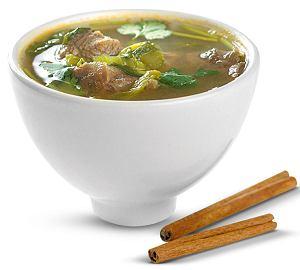 ostra zupa z wołowiny