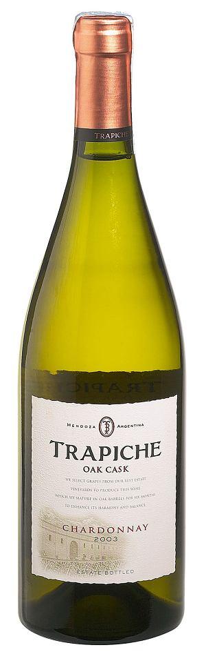 Chardonnay Trapiche, Oak Cask, 2003