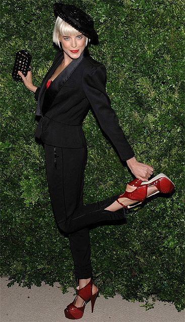 Agyness Deyn fot. AP Photo/Evan Agostini/AG