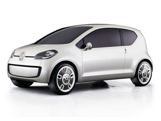 Volkswagen Up! Concept. Audi E1 będzie miał wiele wspólnego z tym modelem Volkswagena