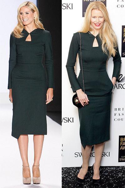 Heidi Klum czy Claudia Schiffer fot. East News