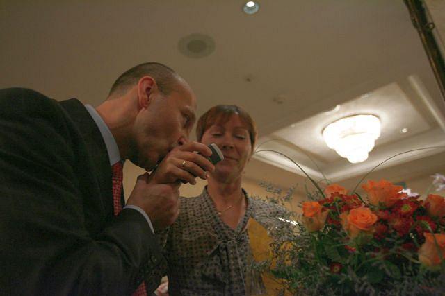 Marcinkiewicz i żona/Sławomir Kaminski / AG