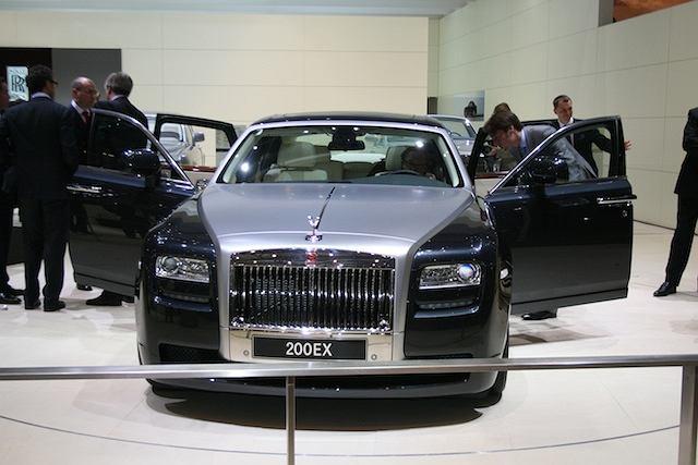 Rolls-Royce 200EX - Genewa 2009