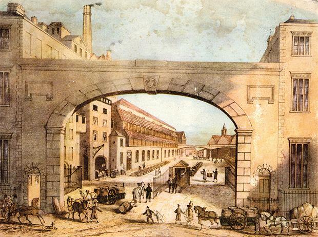 Browar Guinness na przełomie XVIII i XX w.