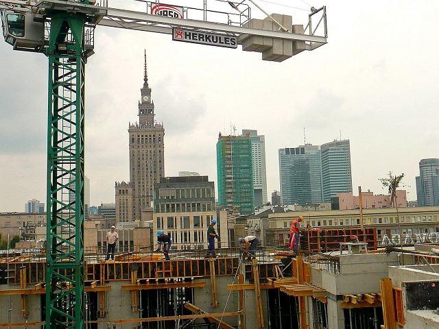 Budowa apartamentowca przy ul. Górskiego w Warszawie