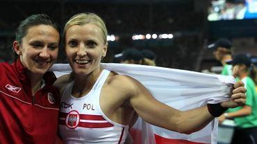 Monika Pyrek i Anna Rogowska