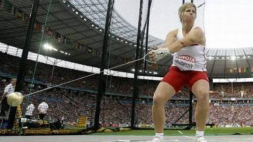 Sierpień 2009. Anita Włodarczyk zdobywa złoty medal na MŚ w Berlinie