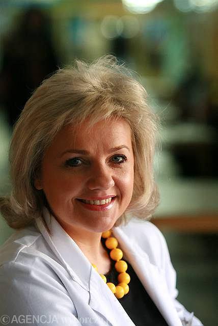 Mariola Kosowicz, psychoterapeutka z Centrum Onkologii w Warszawie