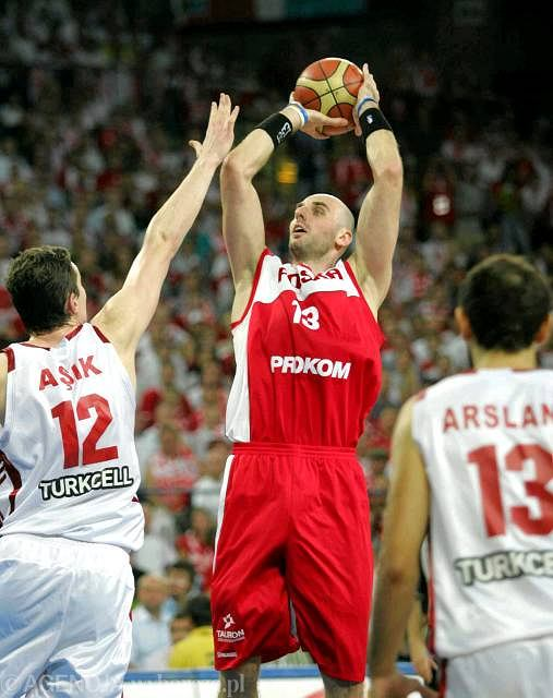 Marcin Gortat jest liderem reprezentacji Polski