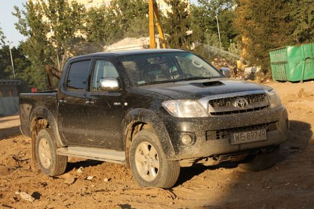 Toyota Hilux   Test wideo