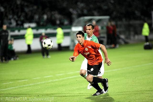 Lechia - Zagłębie 1:0. Iljan Micanski i Krzysztof Bąk