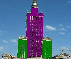 Pomysł Przemka na kolorowy Pałac