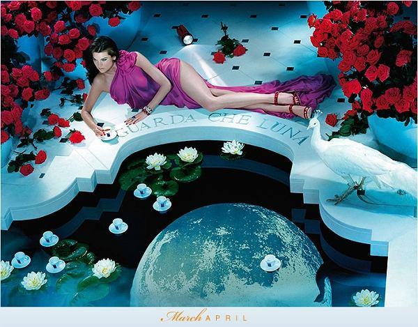 Lavazza kalendarz 2010