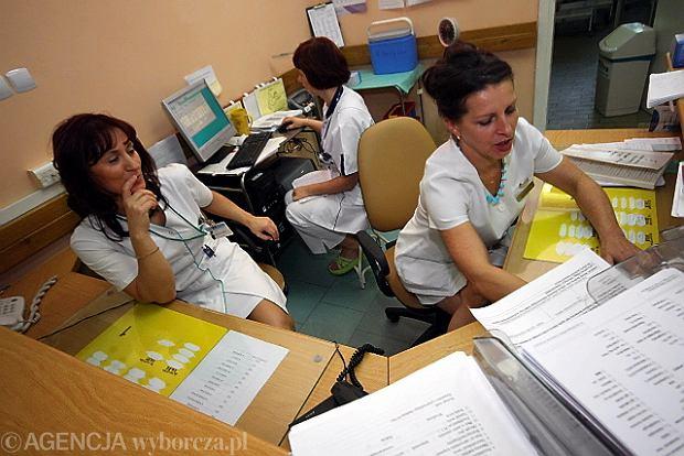 Pielęgniarki w pracy