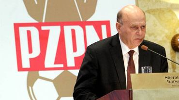 Przemawia prezes Grzegorz Lato