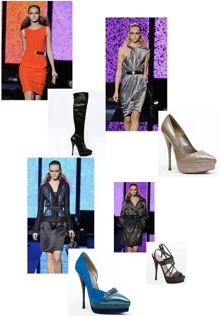 Projekt: Versace (jesień/zima 2009/2010)