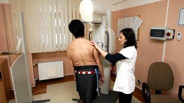Badanie mammograficzne w Dolnośląskim Centrum Onkologii we Wrocławiu