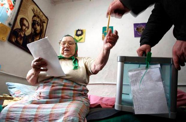 Zdjęcie numer 0 w galerii - Wybory prezdenckie na Ukrainie