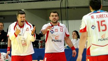 Bogdan Wenta i Bartosz Jurecki