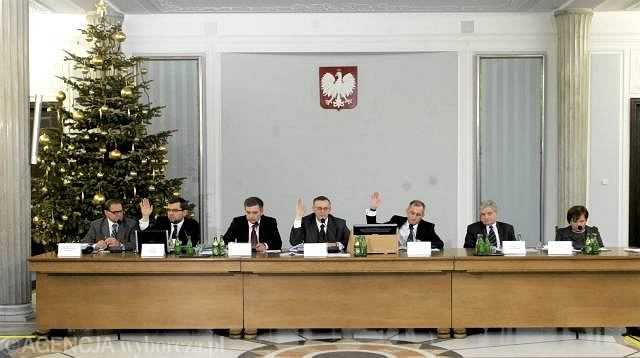 Obrady komisji hazardowej