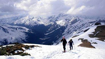 Podejście pod Skrajną Turnię na trasie Kasprowy Wierch - Przełęcz Świnicka