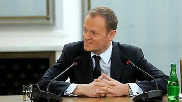 Premier Donald Tusk przed komisją hazardową