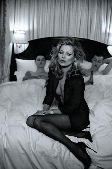 Kate Moss - Harper's Bazaar marzec 2010