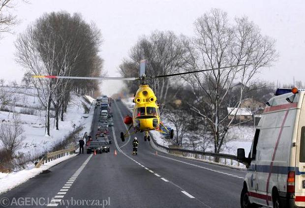 Wypadek na A4, Kraków