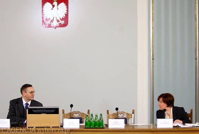 Mirosław Sekuła i Beata Kempa ścierają się na posiedzeniu komisji
