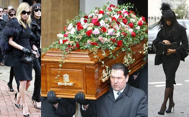 Świat mody i bliscy pożegnali dziś w Londynie wybitnego projektanta Alexandra McQueena. W jego strojach wielokrotnie pojawiały się największe gwiazdy: Lady Gaga, Rihanna, Sarah Jessica Parker i Janet Jackson. W jego butach pojawiła się ostatnio także Doda. Na pogrzebie pojawiły się m.in. modelki, z którymi współpracował - Kate Moss i Noami Campbell. Alexander McQueen dwa tygodnie temu popełnił samobójstwo. Podobno nie mógł poradzić sobie z odejściem matki, która zmarła kilka dni przed nim. Nie doczekał nawet do jej pogrzebu. Miał 40 lat.