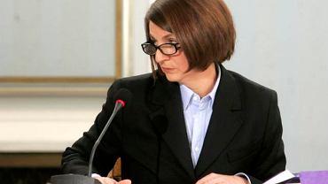 Julia Pitera przed komisją hazardową