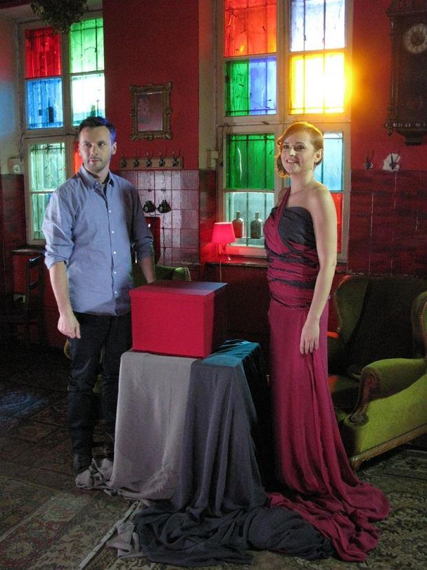 Zdjęcie numer 2 w galerii - Magda Wójcik i Marcin Rozynek na planie teledysku [galeria]